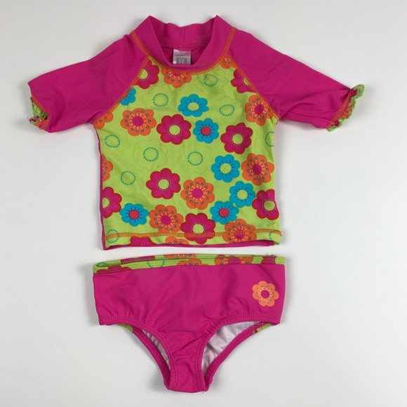 e9d927a04 Carter's Swim | Carters Baby Girl Bathing Suit 2 Pc 18m Upf 50 ...